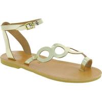 Skor Dam Sandaler Attica Sandals APHRODITE CALF GOLD oro