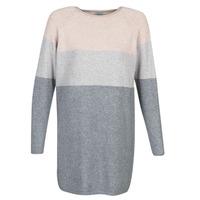 textil Dam Korta klänningar Only ONLLILLO Grå / Rosa