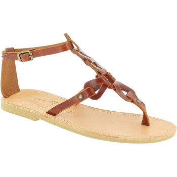 Skor Dam Sandaler Attica Sandals GAIA CALF DK-BROWN marrone