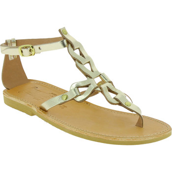 Skor Dam Sandaler Attica Sandals GAIA CALF GOLD oro