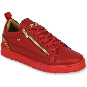 Skor Herr Sneakers Cash Money A Herrskor Cesar Red Gold Röd