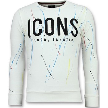 textil Herr Sweatshirts Local Fanatic ICONS Painted For W Vit