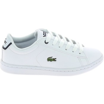 Skor Sneakers Lacoste Carnaby Evo BL C Blanc Marine Vit