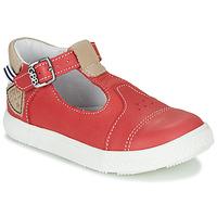 Skor Pojkar Höga sneakers GBB ATALE Röd