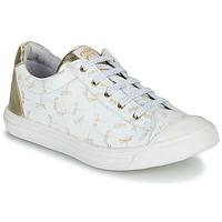 Skor Flickor Sneakers GBB MATIA Vit / Guldfärgad