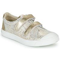 Skor Flickor Sneakers GBB NOELLA Vit / Guldfärgad