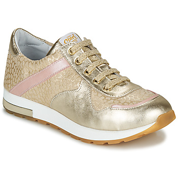 Skor Flickor Sneakers GBB LELIA Beige / Guldfärgad