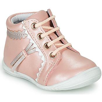 Skor Flickor Höga sneakers GBB ACINTA Rosa