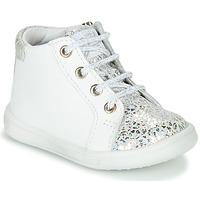 Skor Flickor Höga sneakers GBB FAMIA Vit / Silver
