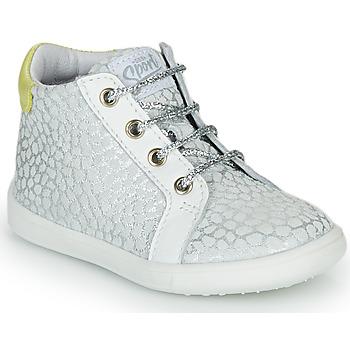 Skor Flickor Höga sneakers GBB FAMIA Silver