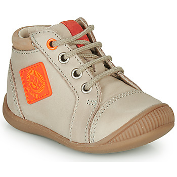 Skor Pojkar Höga sneakers GBB TARAVI Beige