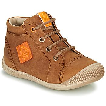 Skor Pojkar Höga sneakers GBB TARAVI Brun