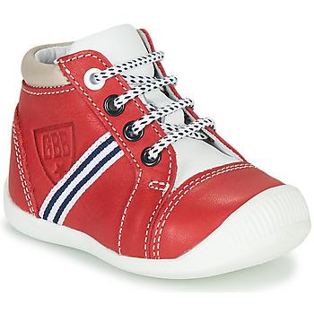 Skor Pojkar Höga sneakers GBB GABRI Röd
