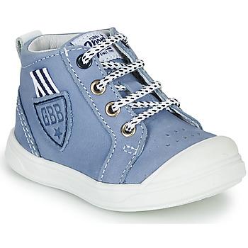 Skor Pojkar Höga sneakers GBB GREGOR Blå