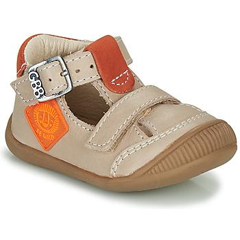 Skor Pojkar Sandaler GBB BOLINA Beige / Orange