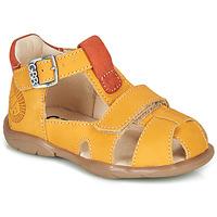 Skor Pojkar Sandaler GBB SEROLO Gul / Orange