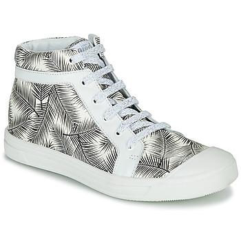 Skor Flickor Höga sneakers GBB NAVETTE Svart / Vit