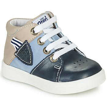 Skor Pojkar Höga sneakers GBB AMOS Blå