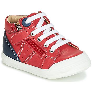 Skor Pojkar Höga sneakers GBB ANATOLE Röd