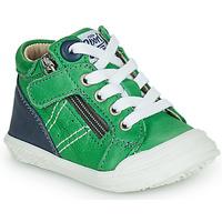 Skor Pojkar Höga sneakers GBB ANATOLE Grön