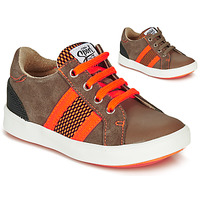 Skor Pojkar Sneakers GBB ANTENO Brun / Orange