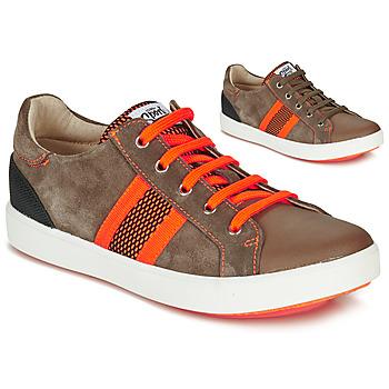 Skor Pojkar Sneakers GBB ANTENO Brun / Orange
