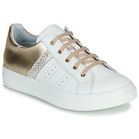 Skor Flickor Sneakers GBB DANINA Vit / Guldfärgad