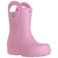 Skor Barn Gummistövlar Crocs Handle IT Rain Boot Rosa