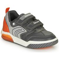 Skor Pojkar Sneakers Geox INEK BOY Grå