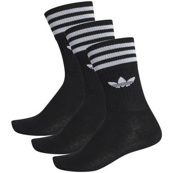 Accessoarer Herr Strumpor adidas Originals Solid crew sock Svart