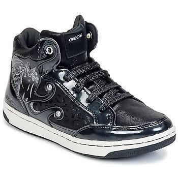 Skor Flick Höga sneakers Geox CREAMY A Svart