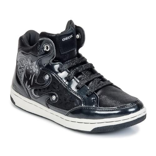 Skor Flickor Höga sneakers Geox CREAMY A Svart
