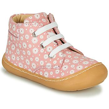 Skor Flickor Höga sneakers GBB ATARINA Rosa
