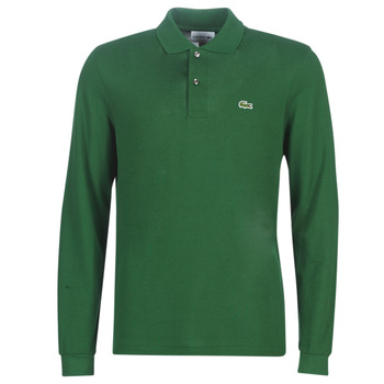 textil Herr Långärmade pikétröjor  Lacoste L1312 Grön