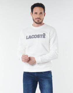 textil Herr Sweatshirts Lacoste SH8632 Vit