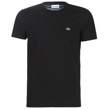 textil Herr T-shirts Lacoste TH6709 Svart