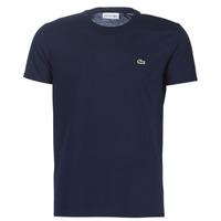 textil Herr T-shirts Lacoste TH6709 Marin
