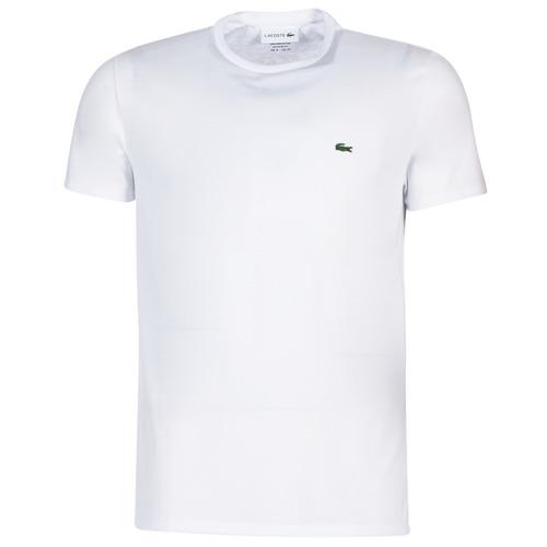 textil Herr T-shirts Lacoste TH6709 Vit