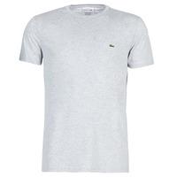 textil Herr T-shirts Lacoste TH6709 Grå