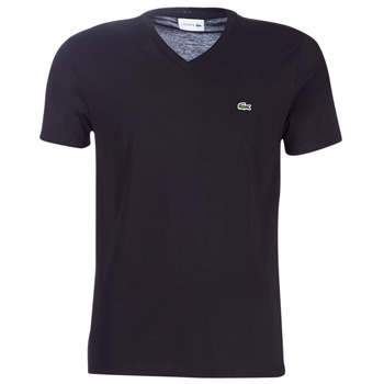 textil Herr T-shirts Lacoste TH6710 Svart