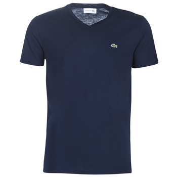textil Herr T-shirts Lacoste TH6710 Marin
