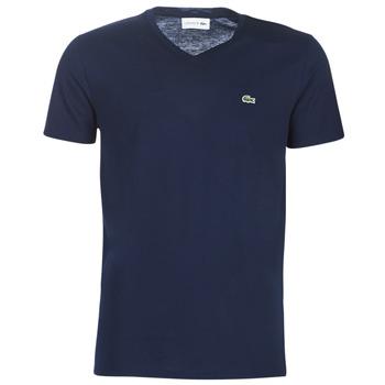 textil Herr T-shirts Lacoste TH6710 Marin