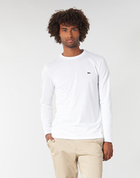 textil Herr Långärmade T-shirts Lacoste TH6712 Vit