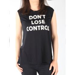 textil Dam Linnen / Ärmlösa T-shirts Lee T-shirt  Muscle Tank Black L42CPB01 black
