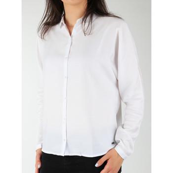 textil Dam Skjortor / Blusar Wrangler Relaxed Shirt W5213LR12 white