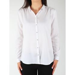 textil Dam Skjortor / Blusar Wrangler L/S Relaxed Shirt W5190BD12 white
