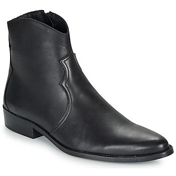 Skor Herr Boots André WESTERN Svart