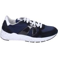 Skor Herr Sneakers Guardiani BR649 Blå