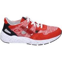 Skor Herr Sneakers Guardiani sneakers tessuto camoscio Rosso