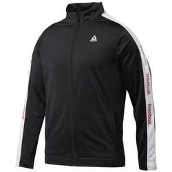 textil Herr Sweatshirts Reebok Sport Training Essentials Linear Logo Svarta